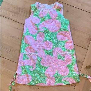 Girls Lilly Pulitzer shift dress